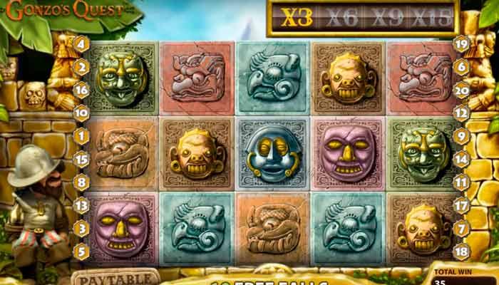 Najlepsze sloty z darmowymi spinami Gonzo's Quest